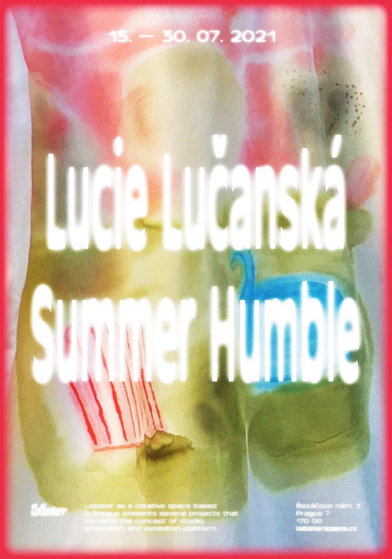 Lucie Lučanská: Summer Humble EXHIBITION